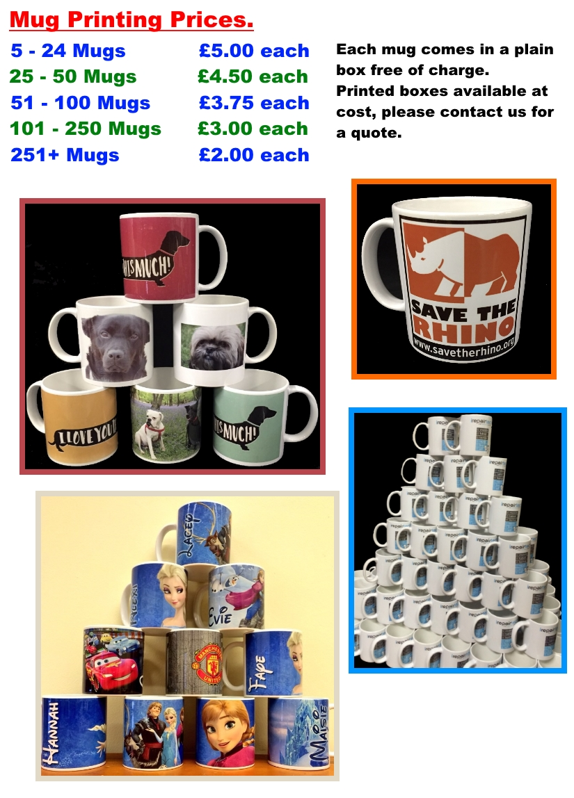 promotional mug printing prices gallery